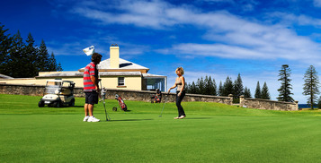 Golf Getaway on Norfolk Island